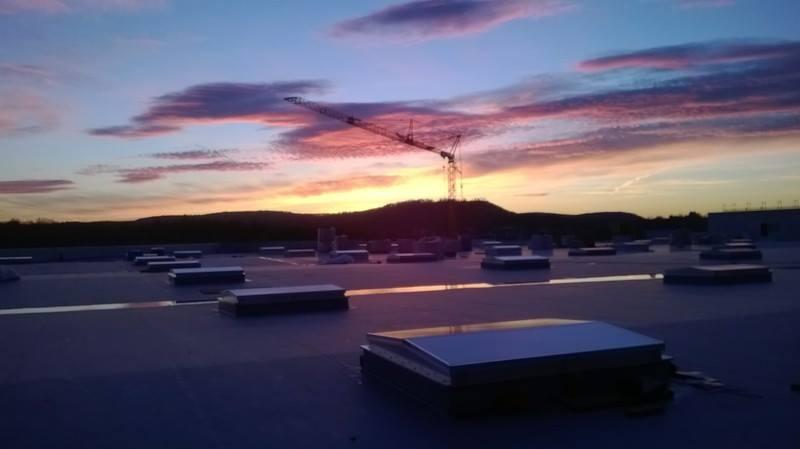 AUDI Facility Neckarsulm Germany 60000qm PVC Roof System