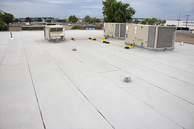 Commercial Roof Modified Bitumen