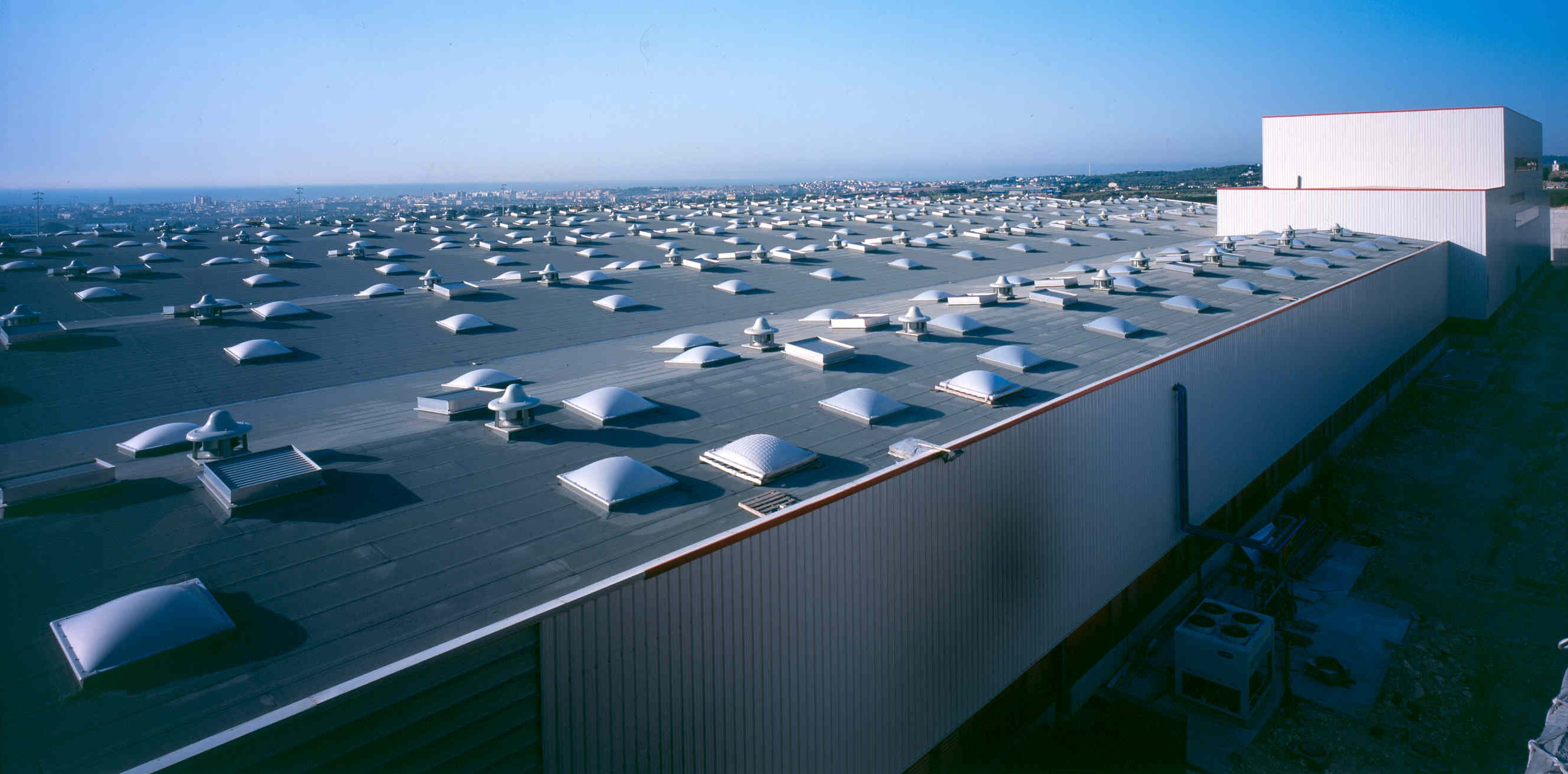 PIRELLI Tire Facility Italy Industrial Roof Modified Bitumen