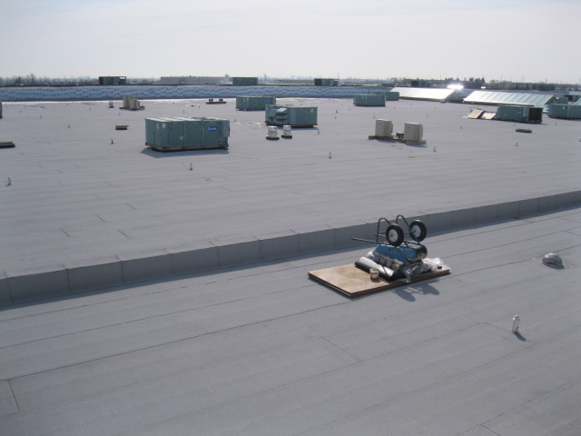 Rogers Centre ON 8000 square Re.Roof Modified Bitumen