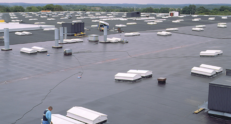 EPDM Roof System on a Industrial Building