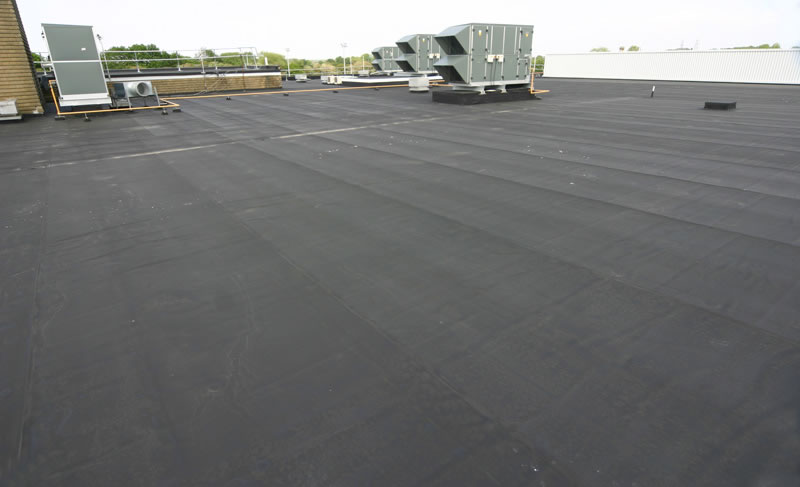 EPDM Roof System on a Commercial Building