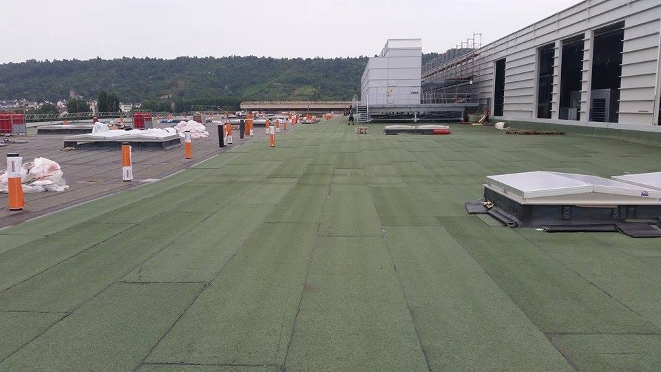 New Mercedes Motor Facility at Untertuerkheim