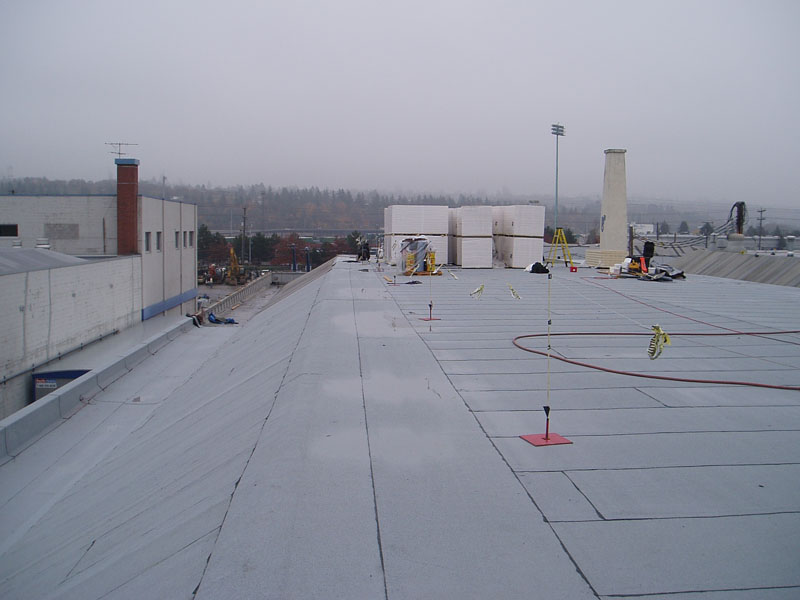 Commercial Building Re.Roof Modified Bitumen